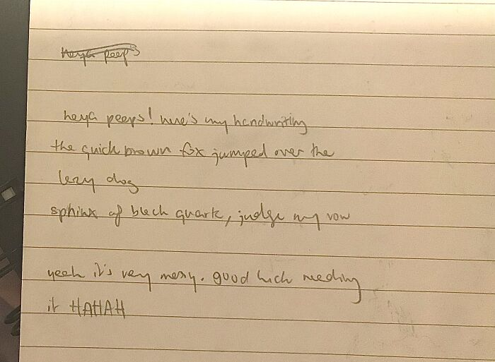 Well My Writing Skills Went Adios