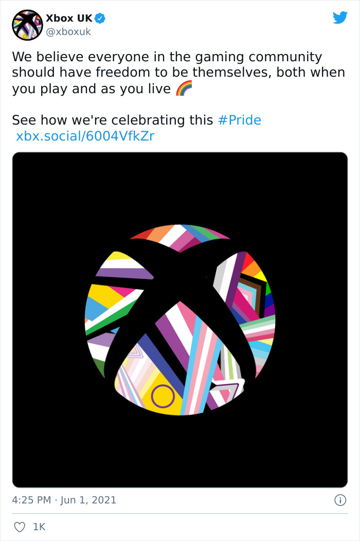 The Internet Proved To A Guy Disapproving Of Xbox's New Rainbow Logo That He Won't Find A Company Not Supporting LGBTQ+
