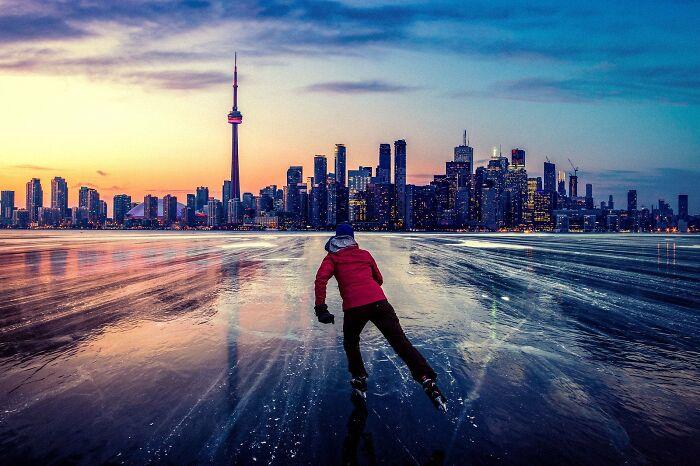 Patinando hacia Toronto