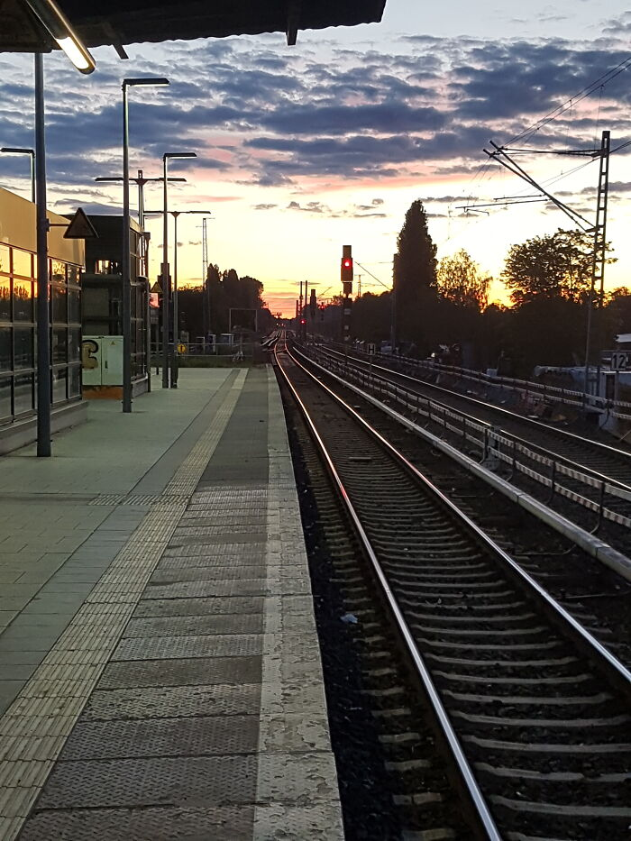 Somewhere On My Way Back To The Inner City Of Berlin .