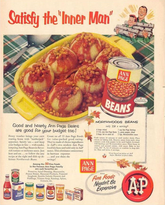 """Here...all These Years...steak, Lasagna, Burgers, Pizza...sigh...all I Needed Was A Can Of Beans & A Hollowed Out Onions! """"Honey, Dinners Ready!"""""""