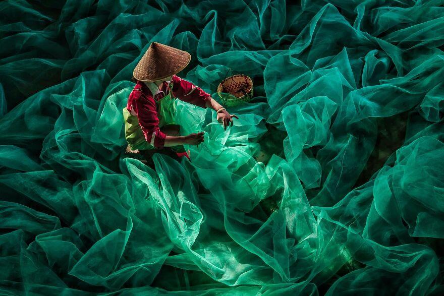 Weaving The Fishnet