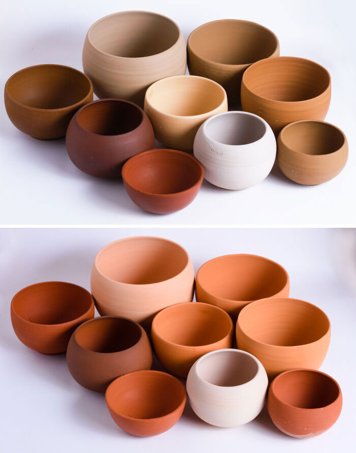 I Make Pottery Out Of Dirt That I Dig Up Myself. These Are Made From 9 Different Wild Clays From Around The Brisbane Area