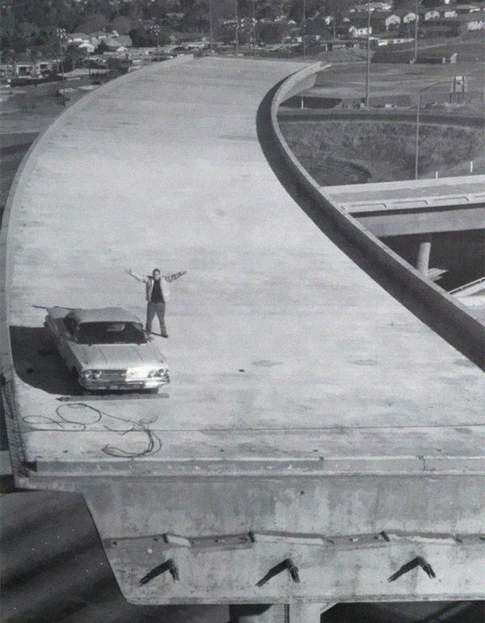 In 1976, San Jose City Councilman Joe Colla Lifted His Car With A Crane Onto One Of The Unconnected Ramps Of The I-280/I-680 Interchange To Protest It Not Being Finished. It Was Completed 5 Years Later And In 2010, Was Renamed In Honor Of Him