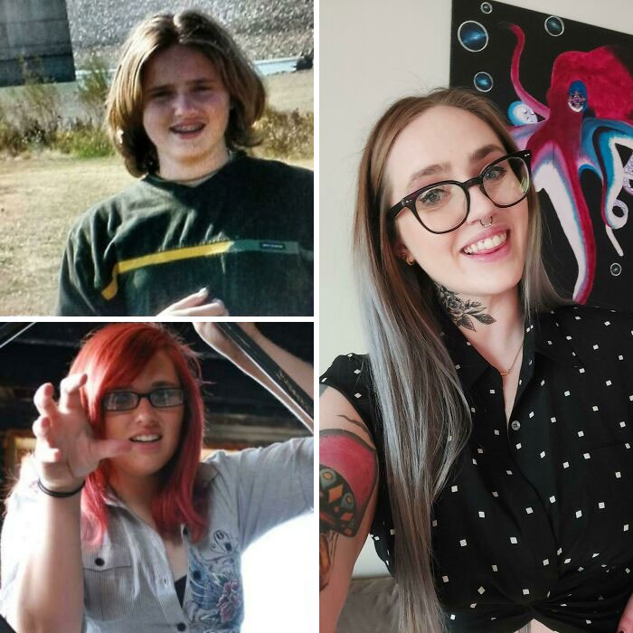 10 To 20 To 30. Thank Goodness I Found Some Better Glasses & Stopped With The Rawr Hand