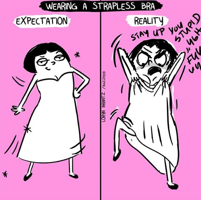 Comics By An Artist Who Knows Very Well What It Is To Be A Woman