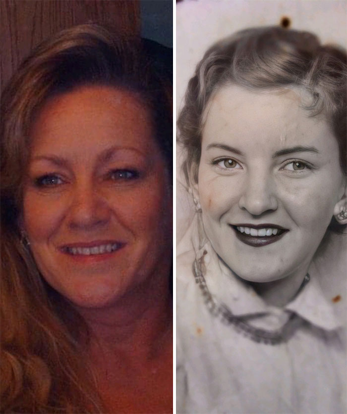 My Mother Died Very Young. All I Have To Remember Her By Are A Few Pictures & My Mirror