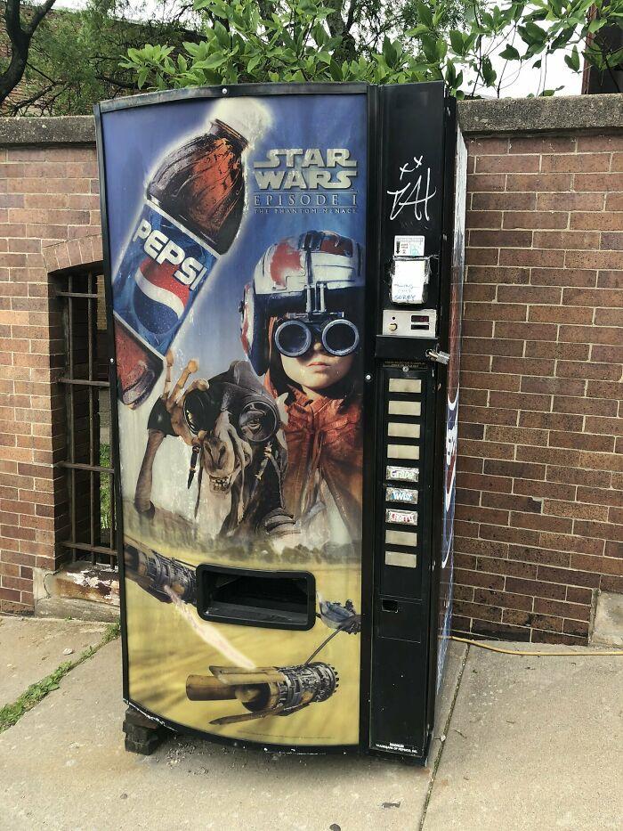 A Vending Machine That Time Forgot