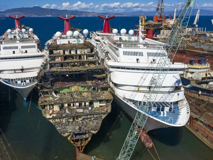 Carnival Cruise Ships Being Scrapped