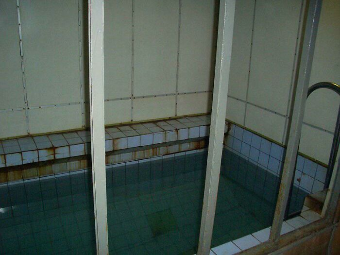 Swimming Pool Aboard A Decommissioned Soviet Typhoon Class Submarine
