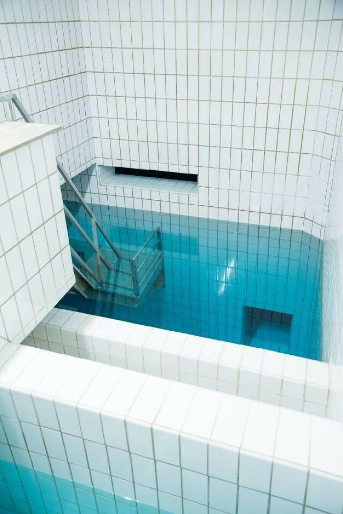 Water Reservoir In Emmendingen, Bw, Germany