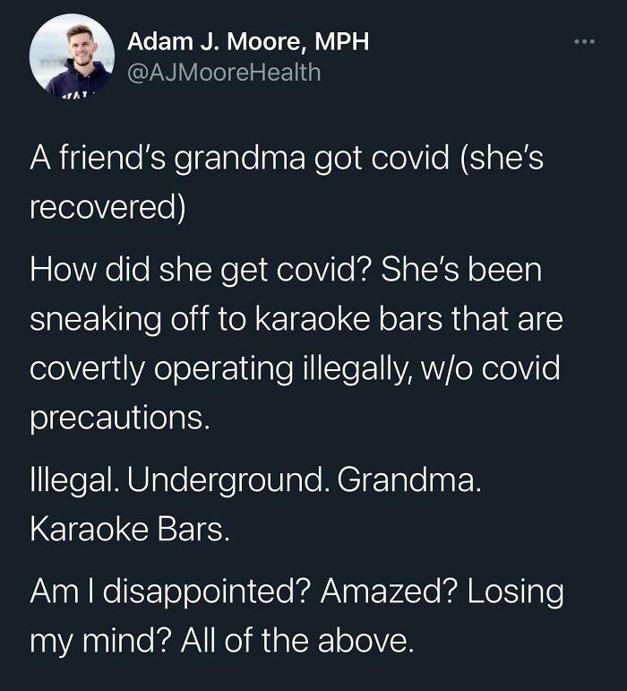 Illegal Underground Grandma Karaoke Bars