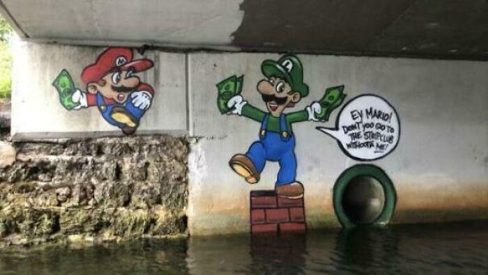 Found Under A Bridge Adjacent To A Strip Club In Miami