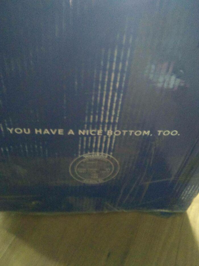 The Bottom Of My Mattress Box Appreciates The Attention