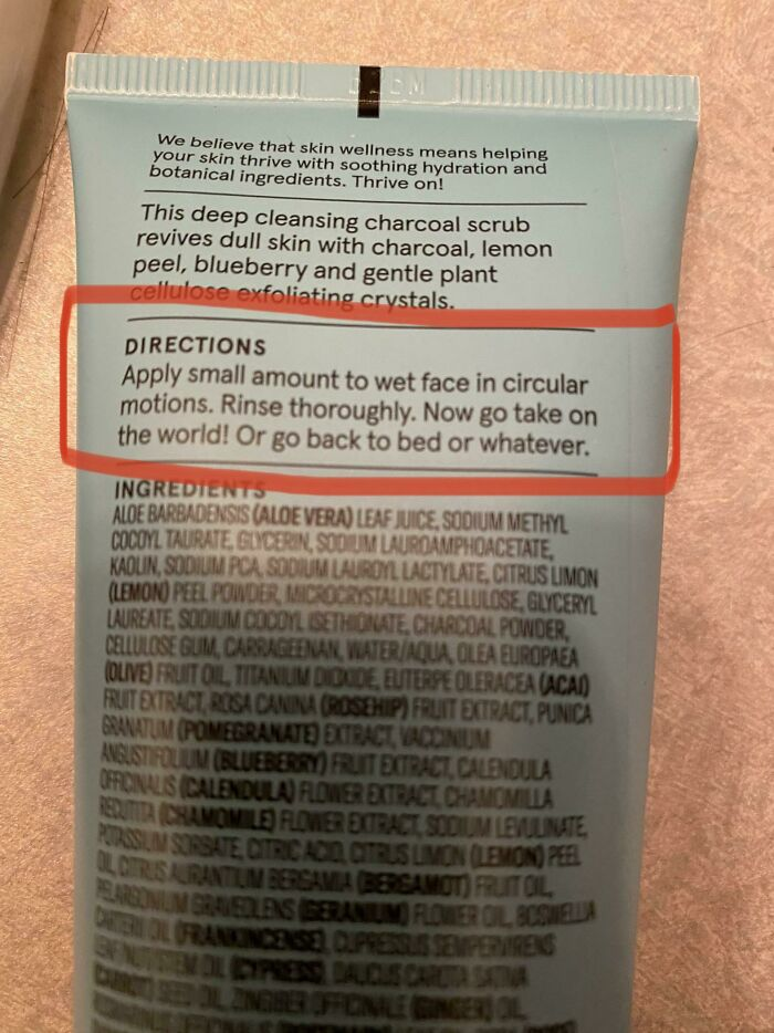 This Face Wash Understands The Limits To Our Motivation