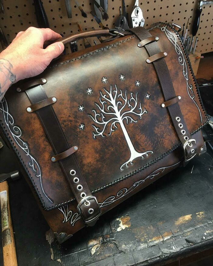 Lord Of The Rings Messenger Bag I Just Finished!