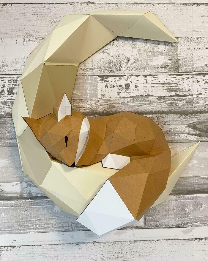 First Paper Sculpture