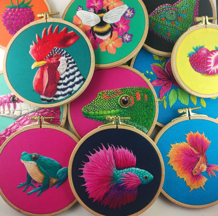 A Year Or So's Worth Of Embroidery