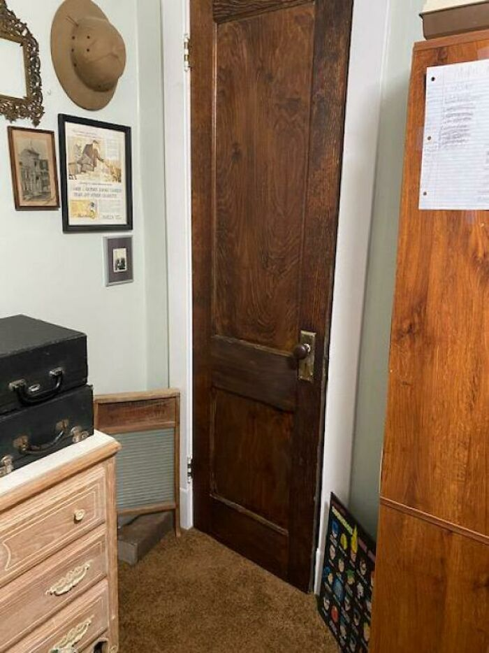 I Restored The Circa 1910 Door In My Room To Its Original Glory! It Was Covered In 4 Layers Of Latex Paint And Very Crusty Varnish! This Is My First Woodworking Project (I'm 14) And I'm Going To Try To Restore Our Other Original Doors!