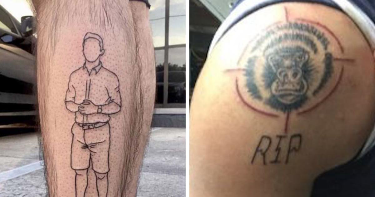 20 Personas con tatuajes que enseguida se volvieron irrelevantes y nada geniales