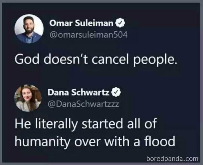 God vs. Humanity