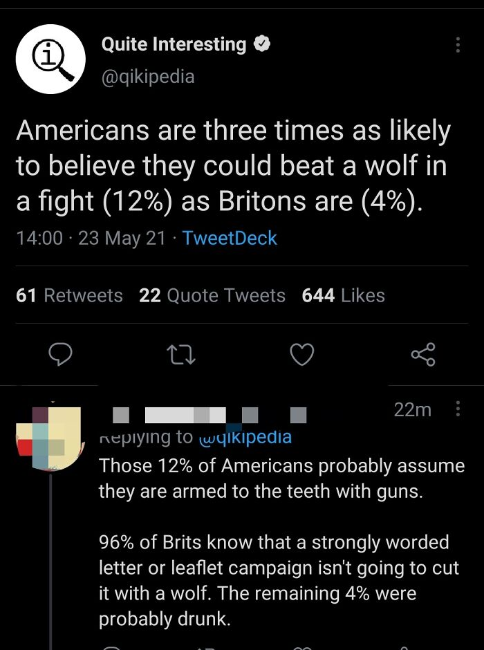 Who Ever Will Fight A Wolf ?
