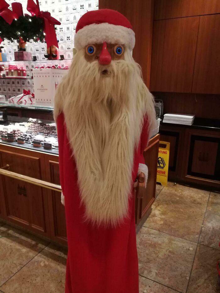 ¡Papá Noel siempre sabe lo que hace!