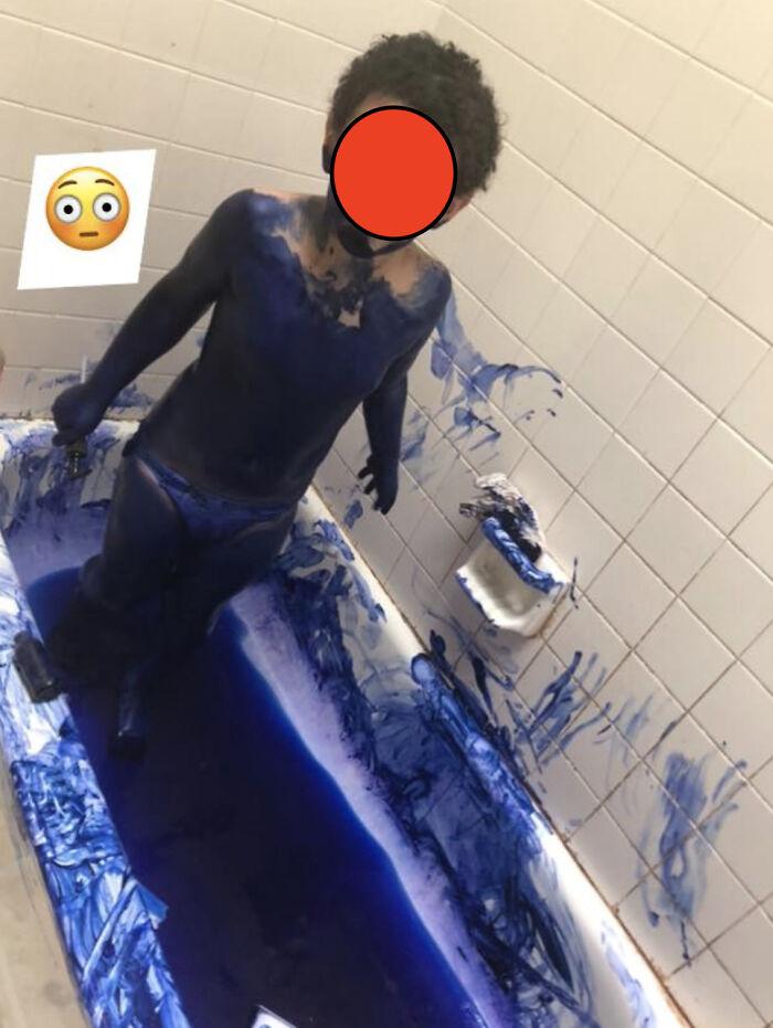 My Friend's Child Got Into Her Hair Dye Before She Woke Up