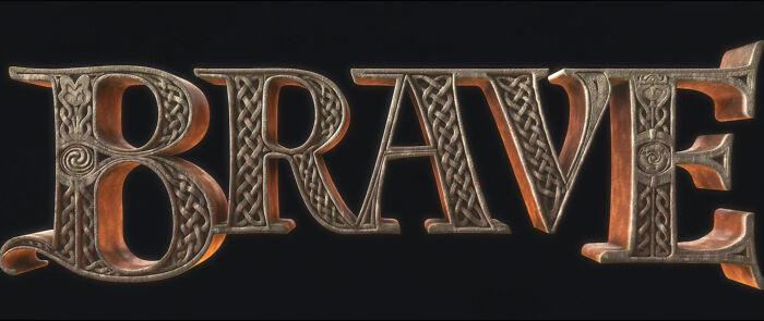 En Brave (2012), puedes ver a Mérida y a su madre escondidas en el logo de la película. Mira la parte superior izquierda de la B y la E