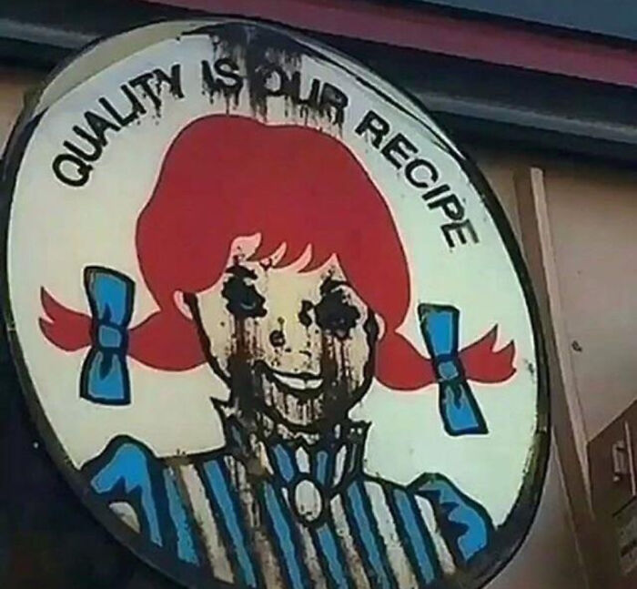 This Wendy's Sign