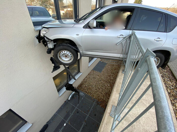 Happened In Germany Today. Elderly People Really Should Take A Second Driving Test