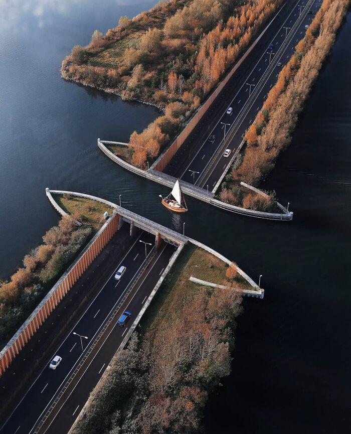 Acueducto Veluwemeer, Países Bajos