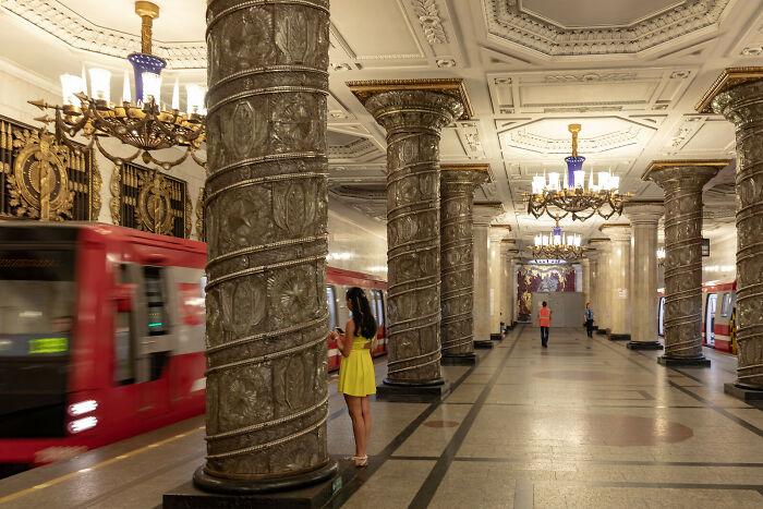 Metro de San Petersburgo, Rusia