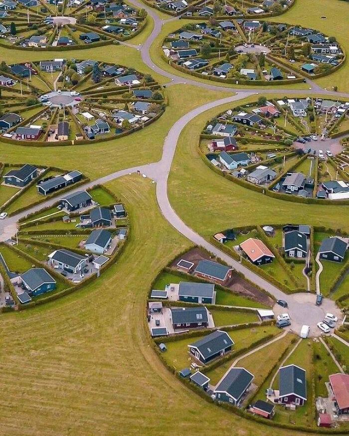 Un poblado en Dinamarca