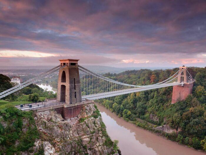 Puente colgante de Clifton, Bristol