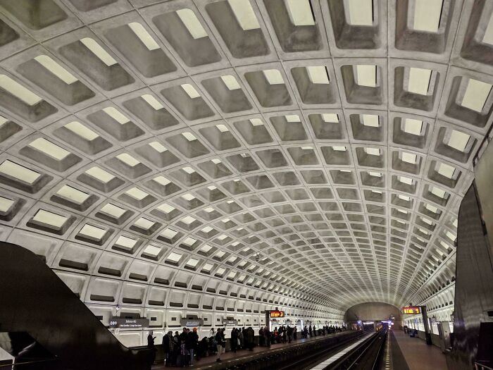 [oc] Washington Dc Metro Stations Are Still Gorgeous Even If You Get Used To Them