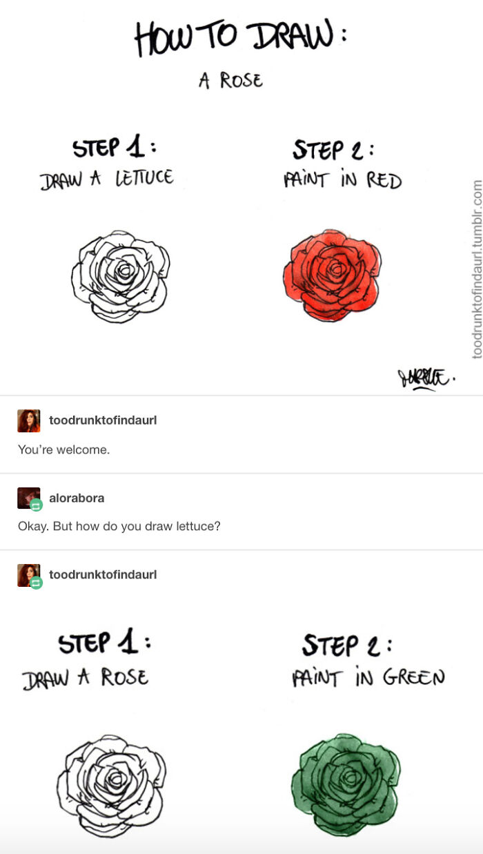 Draw The Rest Of The Rose