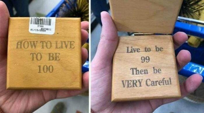 Secret To Long Life
