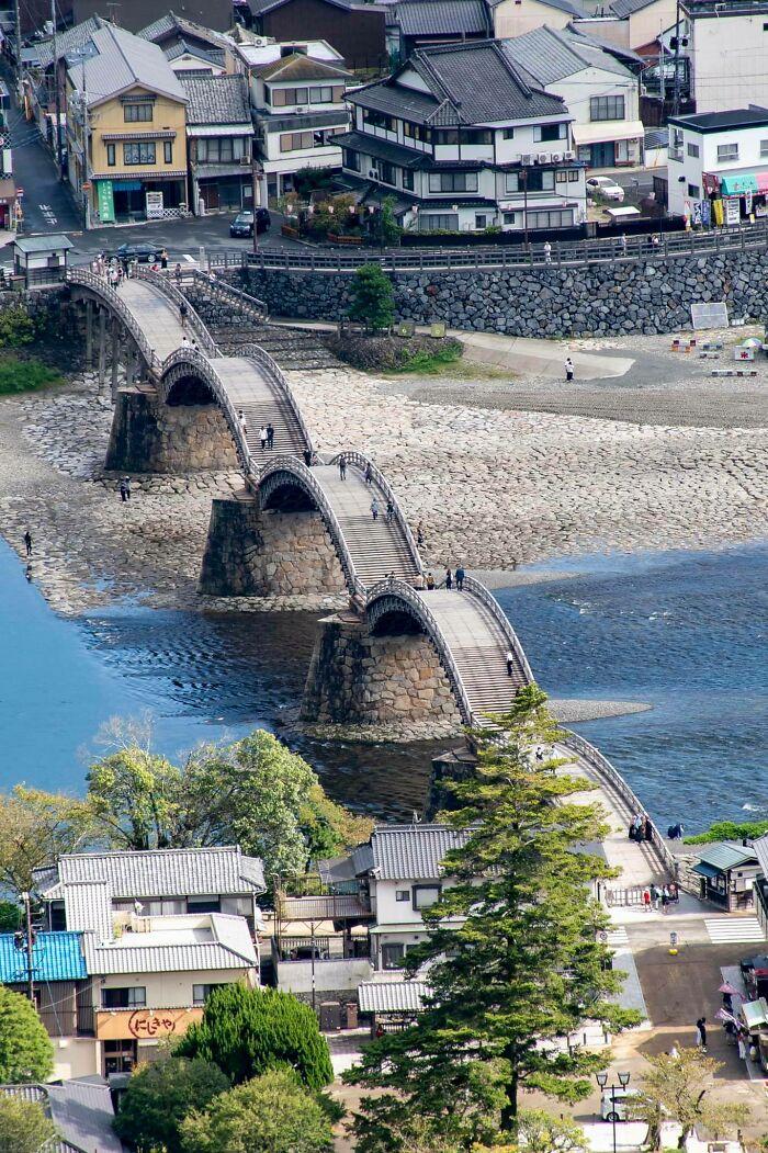 Kintai-Kyō Arch Bridge, In The City Of Iwakuni, Japan
