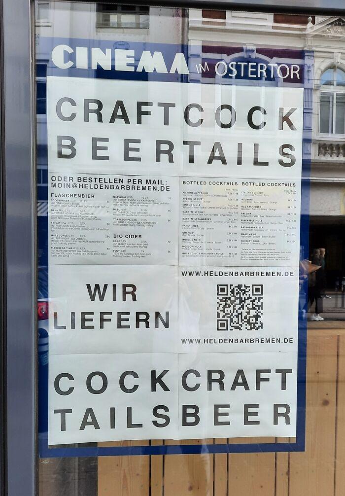 Craftcock Beertails