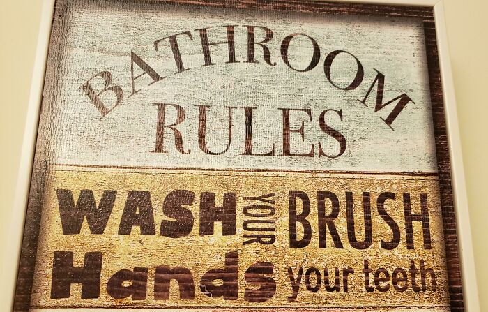 Wash Your Brush Hands Your Teeth