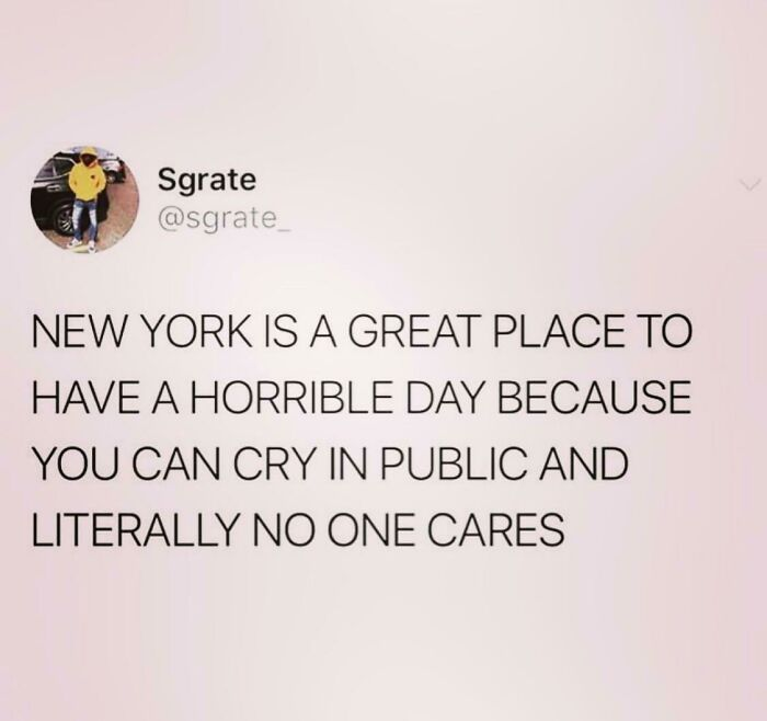 Cause Your In New York