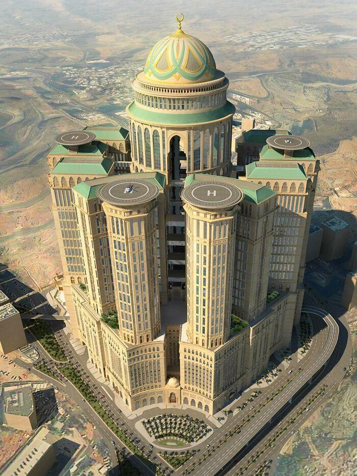 En Arabia Saudí se está construyendo el mayor hotel del mundo, con la asombrosa cifra de 10.000 habitaciones