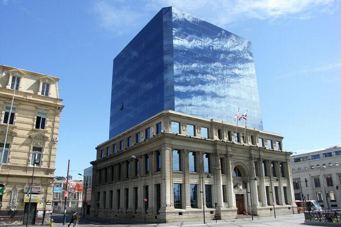 Un edificio impresionante en Chile