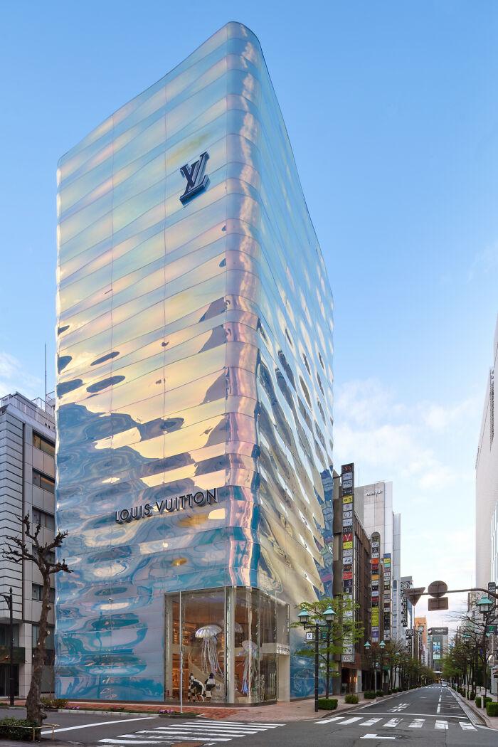 La nueva tienda de Louis Vuitton en Tokio