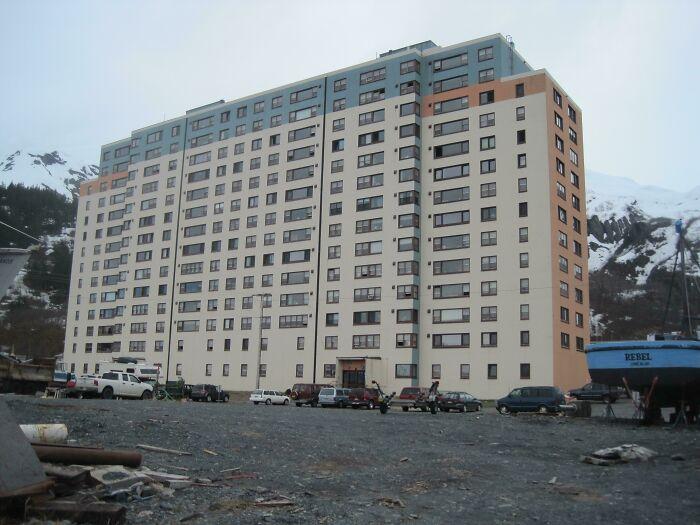 All Residents Of Whittier, Alaska Live Inside One Building