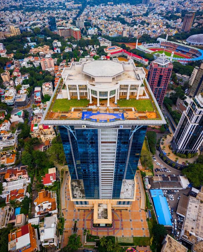 Billionnaire Vijay Mallya's Mansion Atop A Skyscraper In Bangalore, India