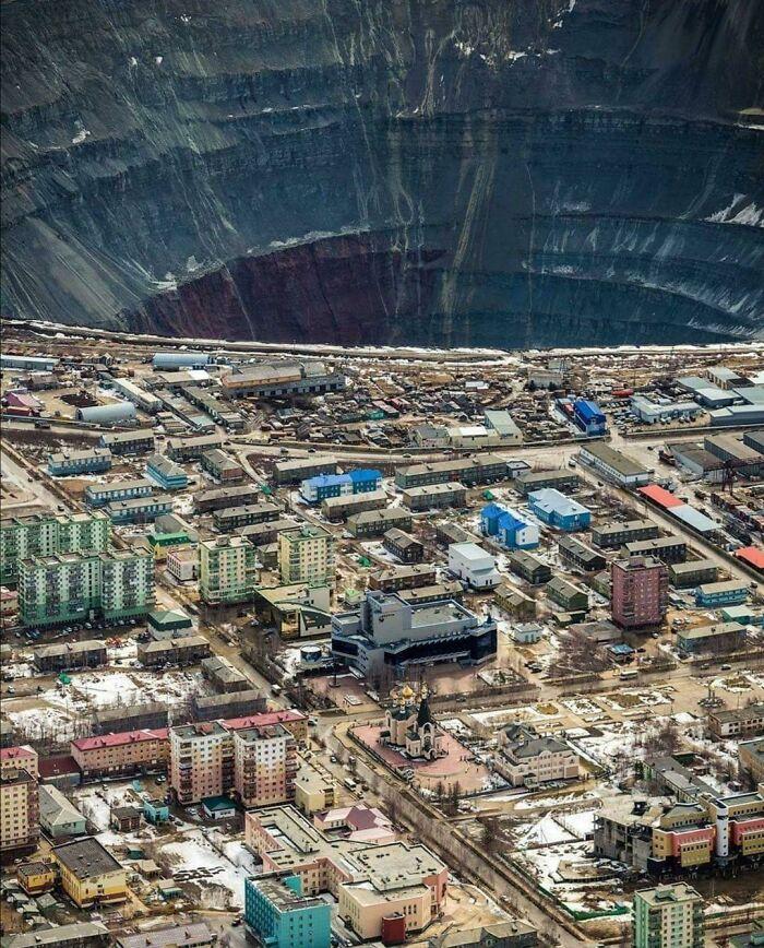 Mirny In Siberia, Russia