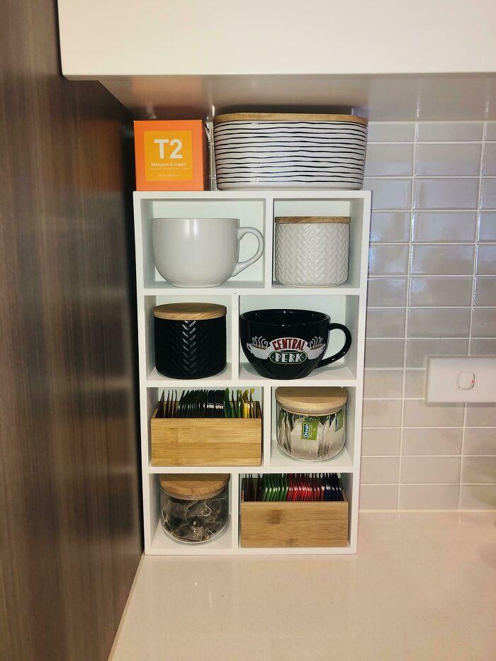 My Vertical Tea Station