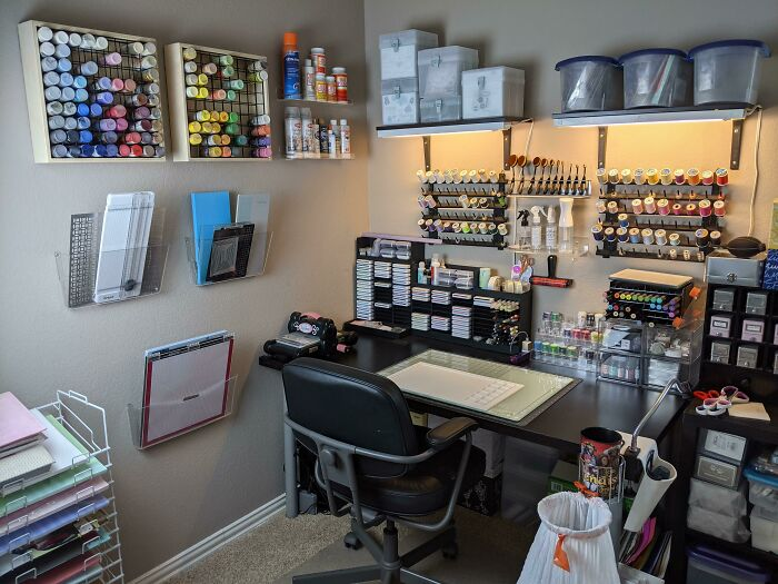 I Finally Have My Craft Room Organized The Way I Want After Countless Failed Attempts Over The Last 2 Decades!